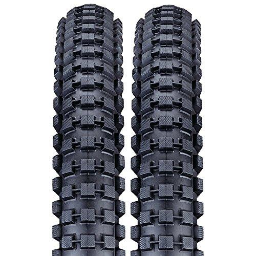 Nutrak BMX Bike Tyre 20 x 2.0 (54-406) BMX Dirt/Jump skinwall Black