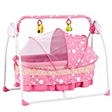 Best Baby Cradle Swings - Uenjoy Automatic Baby Basket Electric Rocking Multifunction Ba Review