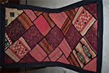 Vintage Tapestry Antique India Handmade Embroidered Patchwork Wall Hanging 127