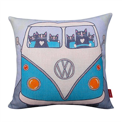Kingla Home® Cotton Linen Square Decorative Throw Pillow Co