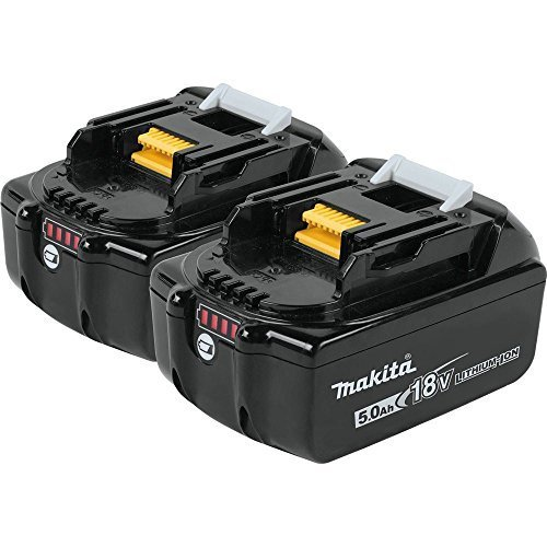 Makita BL1850B-2 18V LXT Lithium-Ion 5.0Ah Battery Twin Pack by Makita by Makita