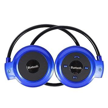 XPFFXX Manos Libres Bluetooth para Teléfono Bluetooth Auriculares Inalámbricos Música Estéreo Bluetooth Auriculares Teléfono Computadora Auriculares Pc, ...