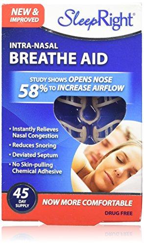 SleepRight Intra-Nasal Breathe Aids