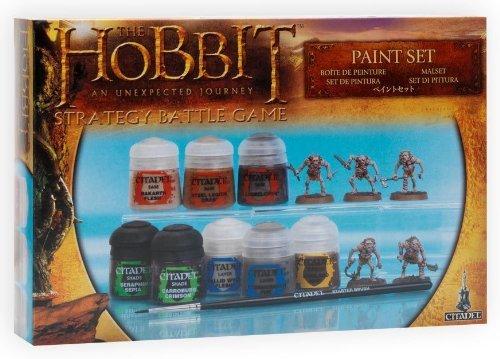 Games WorkShop - Boîte de peinture - le hobbit  un voyage inattendu