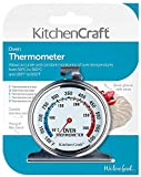 KitchenCraft Stainless Steel Oven Thermometer, 6.5 x 8 cm (2.5' x 3')