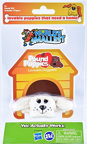 Worlds Smallest Pound Puppies Collectable