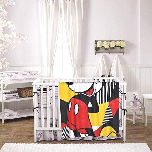 shihuainingxianruandans Couverture de bébé de Confort, Couverture Chaude Douce géométrique pour Le Voyage de Poussette Nouveau-né Infantile en Plein air