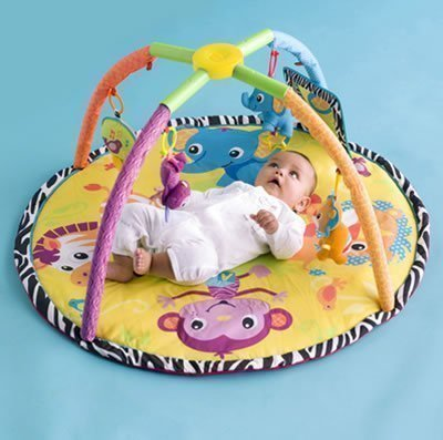 Infantino Twist and Fold Activity Gym and Play Mat - Baby