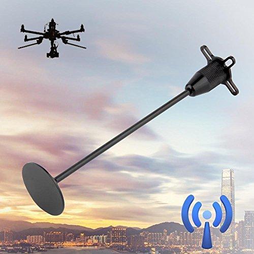 Aluminum Antenna Holder (Xiangtat GPS Folding Antenna Base Mount Holder Bracket Seat Set Kit for Rc DJI Quadcopter Multicopter)