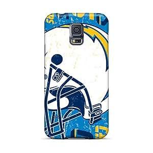Hardphonecases Samsung Galaxy S5 Protector Hard Phone Case Customized Fashion San Diego Chargers Image [aWc7194SJrT]
