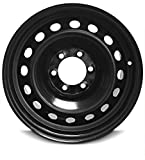 New 17 Inch Toyota 4Runner 6 Lug Black Replacement Steel Wheel Rim 17x7 Inch 6 Lug 106mm Center Bore 14mm Offset - 4261135400