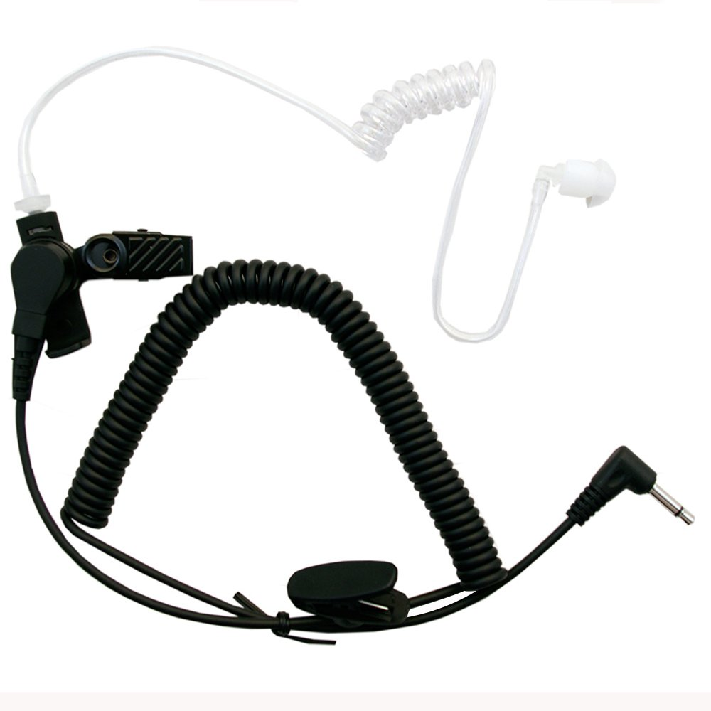 3.5mm Listen Only Acoustic Tube Earpiece for Motorola APX6000 APX7000 APX4000