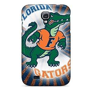 AnnaDubois Samsung Galaxy S4 Shock Absorption Cell-phone Hard Cover Customized Stylish Florida Gators Pattern [ZnG17890faVR]