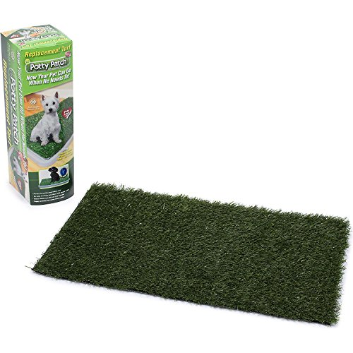 Potty Patch Small Replacement Turf (pets under 15lbs) – Indoor dog litter box, puppy pad, pet training pad Review