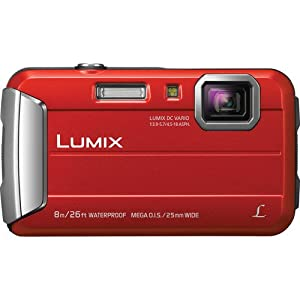 Lumix Active Lifestyle (Red w/ Case) from Panasonic