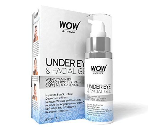 Wow Ultimate Under Eye and Facial Gel, 50ml