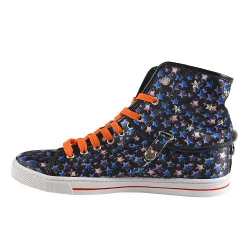 Alleen Cavalli Dames Hi Top W Afneembare Top Sneakers Us 7 It 37