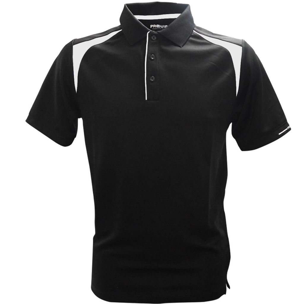 スポーツ/アウトドア/ゴルフ/ウェア/メンズ/シャツ/ポロシャツ/Proquip Golf Technical Panelled Stretch Mens Performance Golf Polo Shirt L  B07QPHDWCC