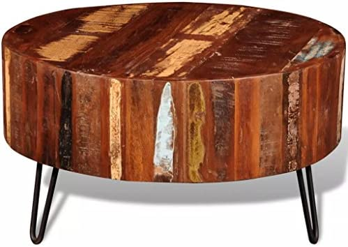 Unfade Memory Stylish and Practical Coffee Table Solid Reclaimed Solid Wood