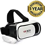 Macberry Lenovo Vibe K5 Note Compatible VR Box 2.0 Virtual Reality Glasses, 3D VR Headsets For 4.7~6 Inch Screen Phones With Bluetooth Remote Control