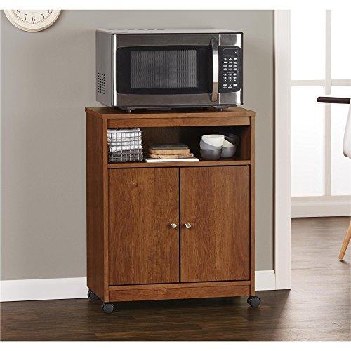 Ameriwood Home Landry Microwave Cart, Brown Oak by Ameriwood Home (Image #4)