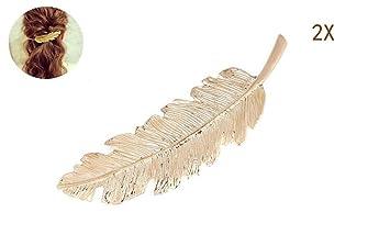 UK Seller NEW Beautiful Pearl Set Moon or Circle Hair Clip Gold or Silver