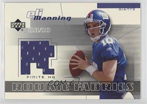 Eli Manning (Football Card) 2004 Upper Deck Finite HG - Rookie Fabrics ()