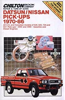 Nissan datsun pickup 8097 pathfinder 8795 haynes repair datsunnissan pick ups 1970 86 all us and canadian models of fandeluxe Choice Image