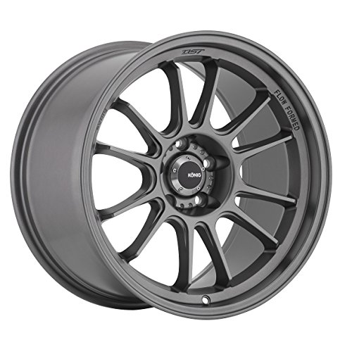 Konig Hypergram 18x9.5 Gray Wheel / Rim 5x4.5 with a 35mm Of