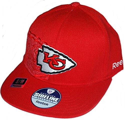 Reebok Kansas City Chiefs Sideline Player 2nd Season Hat Small/Medium