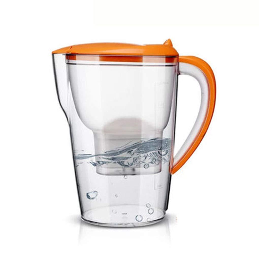 FHer-Water Filter Jug La Tazza di Acqua del Filtro per la casa della Famiglia del purificatore di Acqua della Rete Domestica della Cucina 28 * 14 * 26cm Prezzi