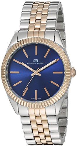 Oceanaut Women's OC7414 Analog Display Quartz Two Tone Watch