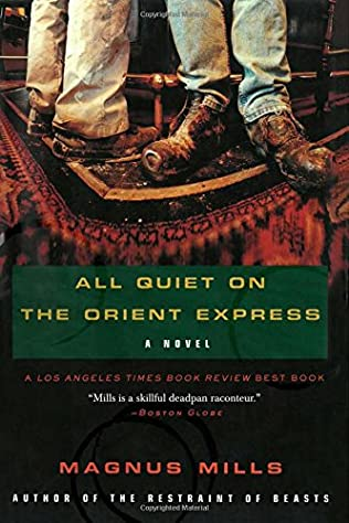 book cover of All Quiet on the Orient Express