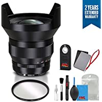 Zeiss Distagon T 15mm f/2.8 ZE Lens for Canon - 1964-830 with Cleaning Accessory Kit and 2 Year Extended Warranty