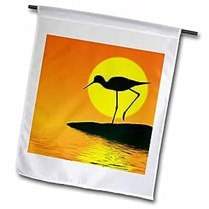 Danita Delimont - Birds - Florida, Merritt Island, wading bird - US10 DSN0060 - Deborah Sandidge - 18 x 27 inch Garden Flag (fl_89117_2)