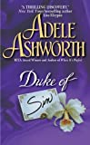 The Duke of Sin by Adele Ashworth front cover