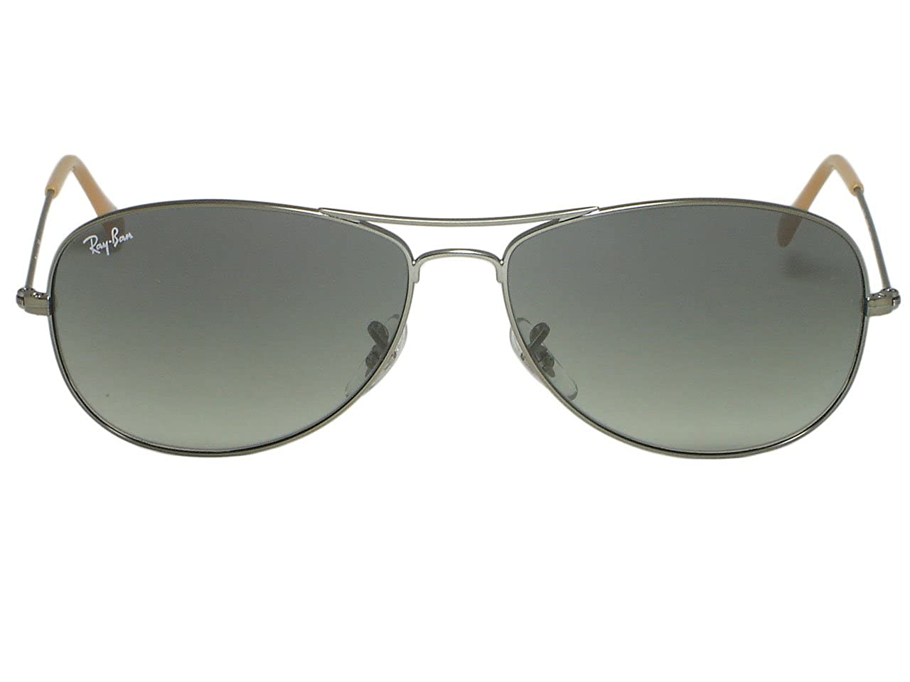 b8257603e4 Amazon.com  Ray Ban RB3362 Cockpit 004 Gunmetal Sunglasses 56mm  Clothing
