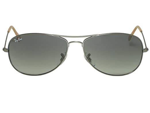 29680085e5896 Image Unavailable. Image not available for. Color  Ray Ban RB3362 Cockpit  004 Gunmetal Sunglasses 56mm