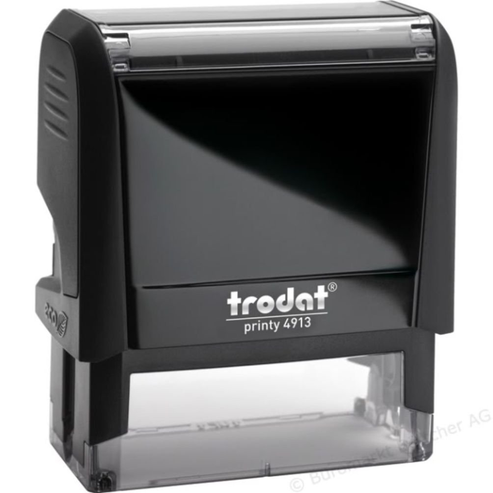 Personalized Address Stamp - Eco-Friendly, Recycled Plastic, Climate Neutral Stamper - Custom Self-Inking Stamp