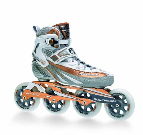 Rollerblade Speedmachine 8 Women's Skate, Silver/Brnz, Women's US 8