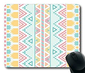 Aztec Tribal Pattern1 POP Masterpiece Limited Design Oblong Mouse Pad by Cases & Mousepads