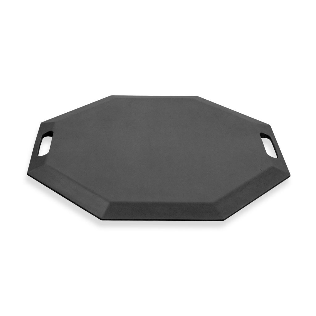 SmartCells Anti-Fatigue Comfort Mat for Home and Office, 22-Inch Octagonal, Black