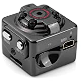 2 Modes HD 1080P, 720P Mini Hide DV Camera Spy Dice Shape Pic/Voice/Video IR Night Vision Home Security Motion Detector for Lawyers Journalists and Business men VA-8