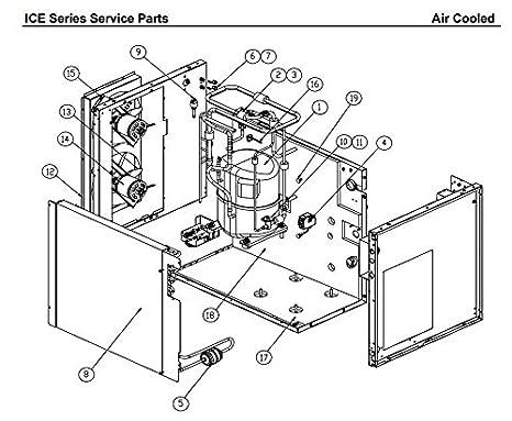 Esp Ice O Matic Ice Machine Fan Motor 120hp 35w 0 54a 230v 50hz