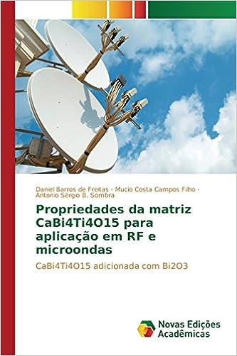 Propriedades da matriz CaBi4Ti4O15 para aplicação em RF e ...