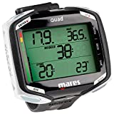 Mares 414134, Clock for Diving Unisex Adult, unisex adult, 414134, black/white, One Size