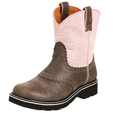 Amazon.com | Ariat Fatbaby Western Boot (Toddler/Little Kid/Big ...