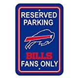 NFL Buffalo Bills Plastic Parking Sign