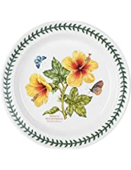 Portmeirion Exotic Botanic Garden Salad Plate with Hibiscus Motif