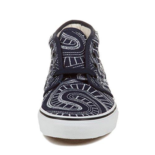 """Vans Herren Chukka Boot (Spirale) """"Supreme"""" Blue Canvas Skateboarding Größe 8"""